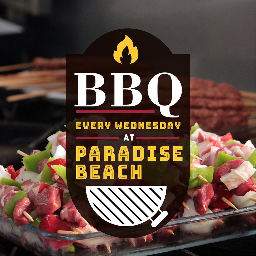barbeque night at Paradise Beach Ölüdeniz